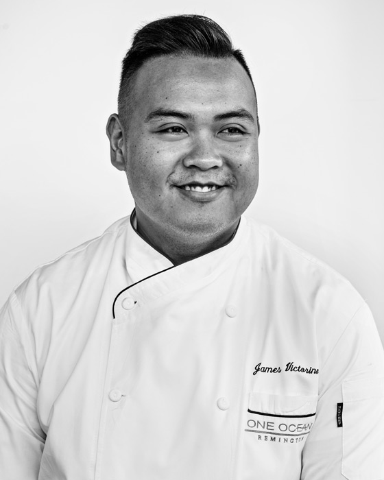Chef James Victorino headshot