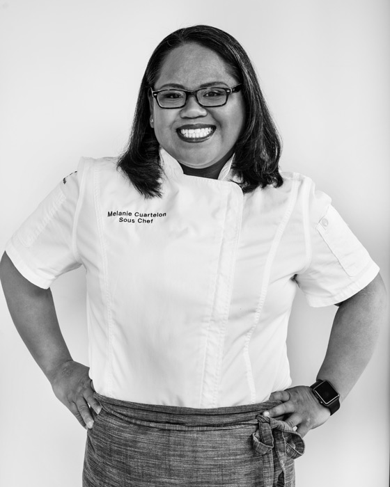 Chef Melanie Cuartelon headshot